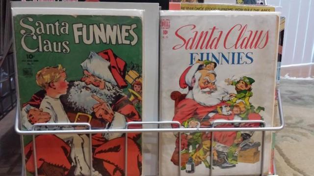 Vintage Santa Comics