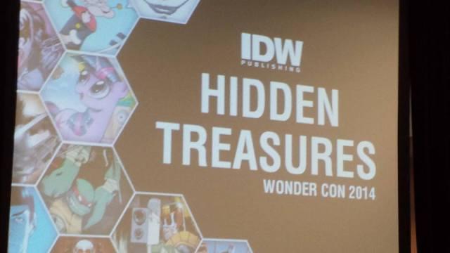 IDW_Hidden Treasures
