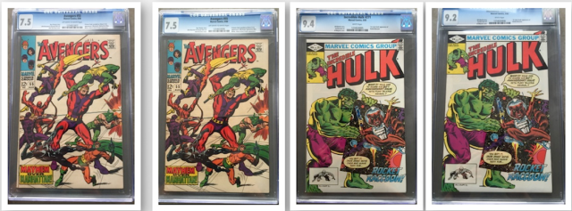 Shawn got these four books graded at WW Chicago 2014