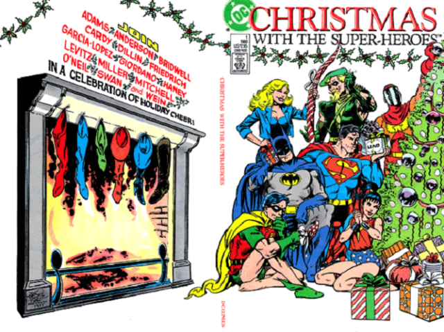 02 Christmas With the Super-Heroes #1 (George Pérez)