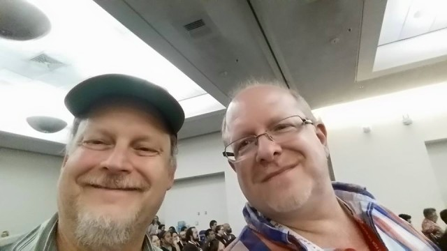 06 - Waid & Bob at Zdarsky panel