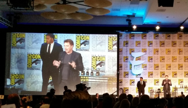 Barrowman at Eisners