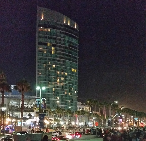 SDCC by Night