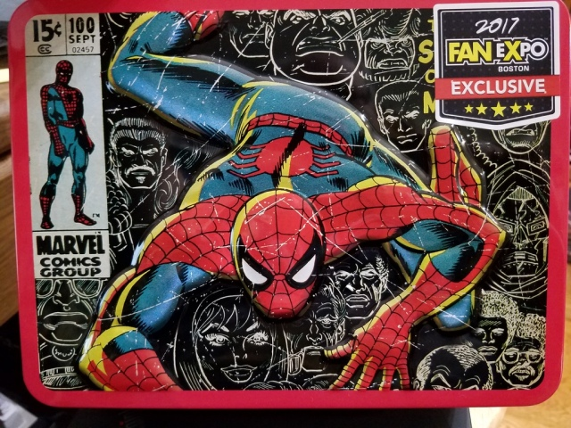 Spidey lunchbox