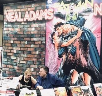 Neal Adams booth